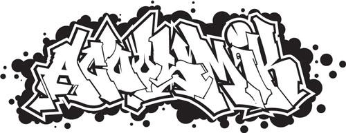 logo du groupe de rap, hip-hop du havre: acoosmik