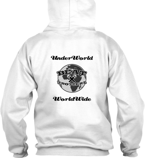 Beat Trotterz Hooded Sweatshirts back