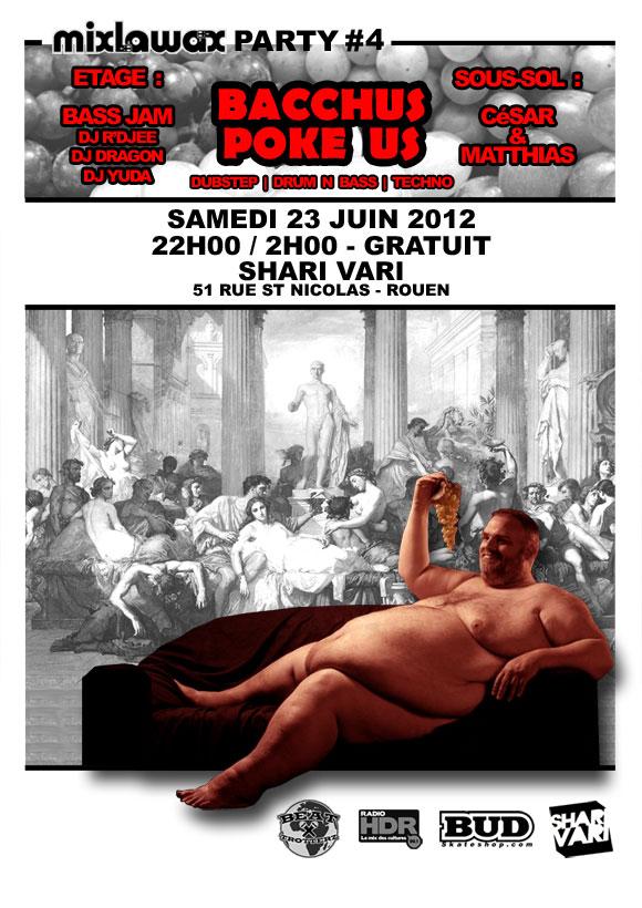 soiree Dubstep Drum N Bass Techno Bass Jam Cesar Matthias Rouen Shari Vari samedi 23 juin 2012