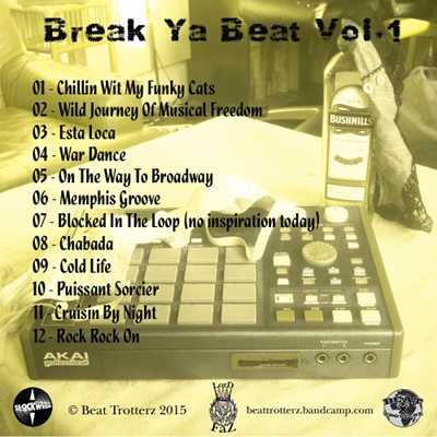 Lord Faz - Break Ya Beat Volume #01 back cover