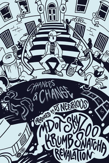 M-Dot feat. Skyzoo, Revalation, Krumb Snatcha and Red Pages - Chances and Change