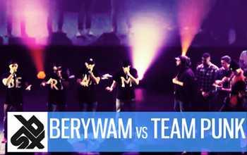 Berywam vs Team Punk - French Beatbox Championship 2015, Crew Final