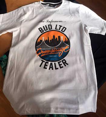 t shirt infamous tealer bud ltd