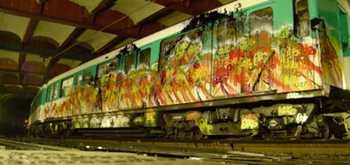 Azyle vs RATP: peinture haute tension video