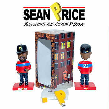 Sean Price Bobble Head and Custom P 2GB USB Flash Drive