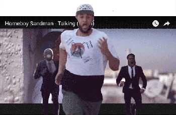 Homeboy Sandman - Talking (Bleep) video