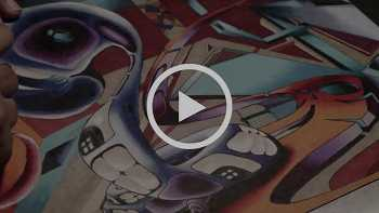 Ronin - Time Lapse #Drawing video