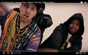 Kool G Rap feat. Termanology + Saigon - Running video