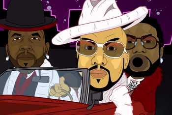Big Boi feat. Gucci Mane, Pimp C - In the South video