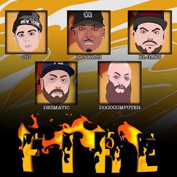 JOAT SLNM feat. Jamo Gang (J57, Ras Kass, El Gant, Dezmatic Doodcomputer) - Fire video