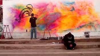 Sonik / Caps Crew - Strike Colors - Graffiti Peru