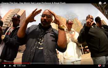 Oowop The Don feat. Large Professor Royal Flush - Day Wonin video