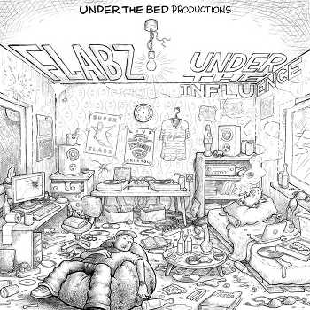 Under The Bed Productions/Flabz - Under The Influence Instrumentals EP