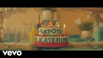 Alkpote feat. Katerine - Amour video