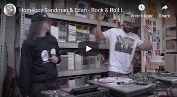 Dungeon Session: Homeboy Sandman Edan - Rock Roll Indian Dance (Live)