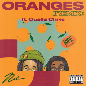 Nolan The Ninja feat. Quelle Chris - Oranges RMX