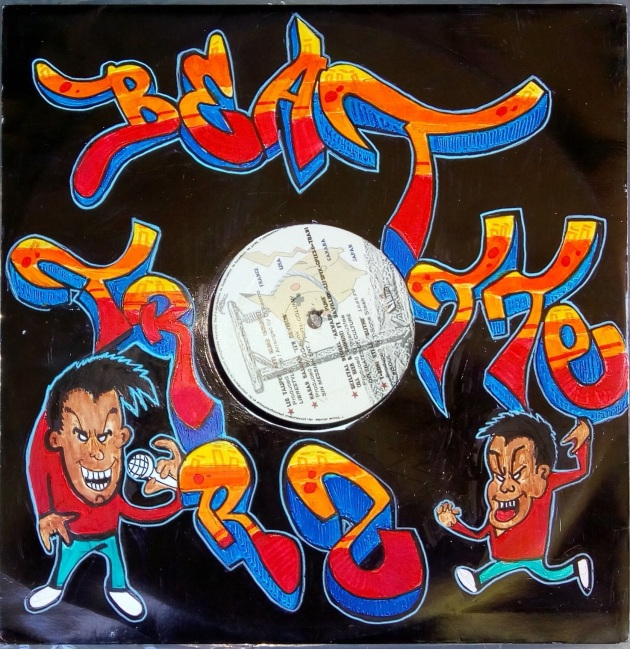 Beat Trotterz vinyl cover customized by Aste