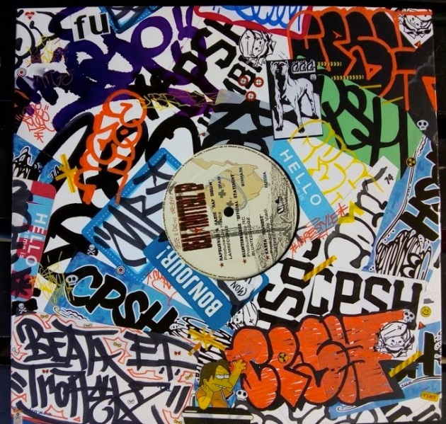 Beat Trotterz cover vinyl customized by CPSH