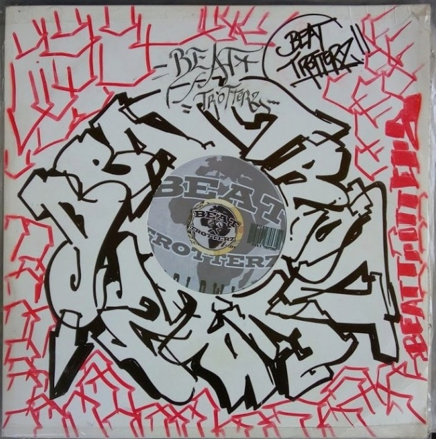 Beat Trotterz vinyl cover customized n°3 by Oamse