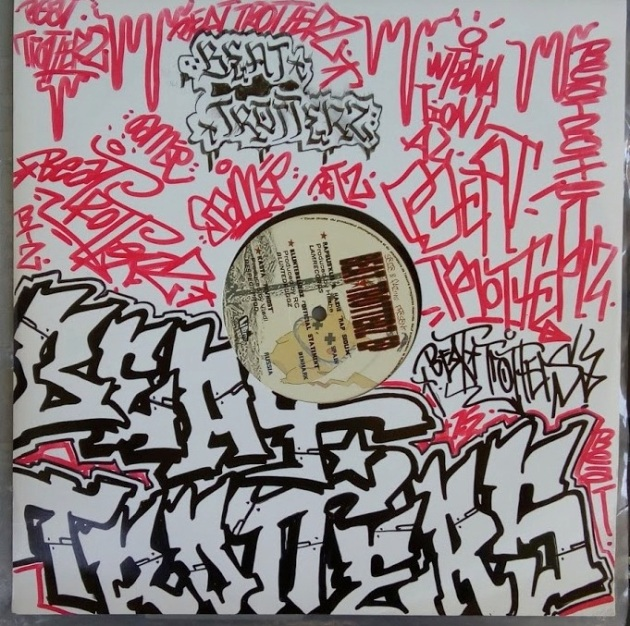 Third Beat Trotterz vinyl cover customized by Oamse