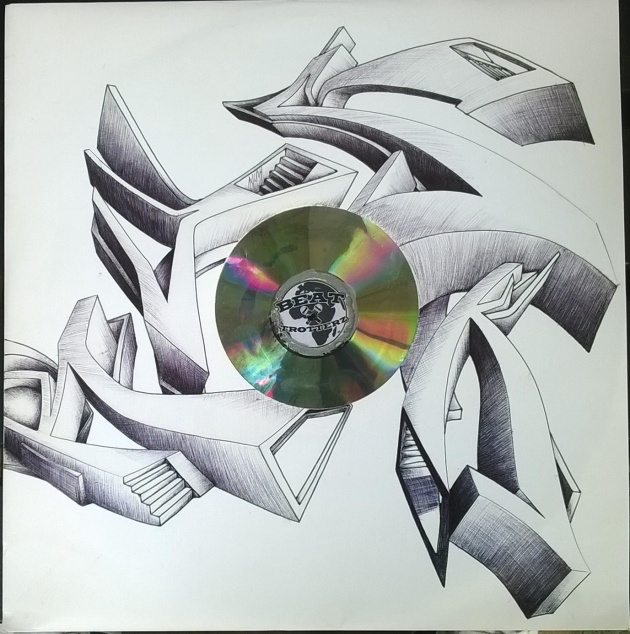 Beat Trotterz vinyl cover customized by Rusk