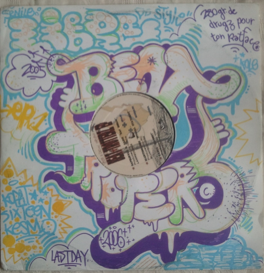 Beat Trotterz vinyl cover customized by Sook