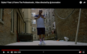 Styles P feat. Lil Fame - The Professionals video
