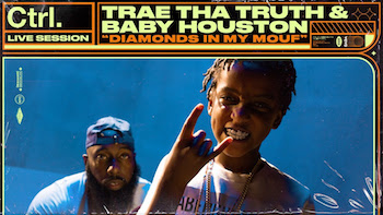Trae Tha Truth, Baby Houston - Diamonds in My Mouf Live Session