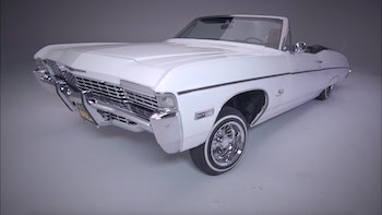 1968 Chevy Impala Convertible by Rick Solis - LOWRIDER Roll Models Ep. 45