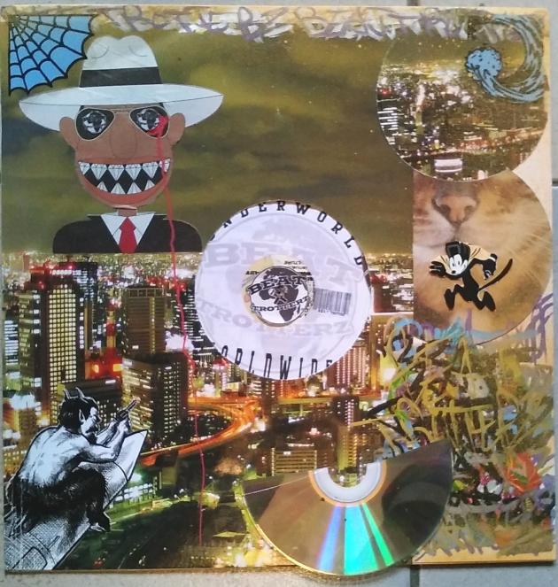 Beat Trotterz Vinyl Customization by Lord Faz