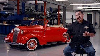 1937 Chevrolet Cabriolet by Michael Tovar - LOWRIDER Roll Models Ep. 47