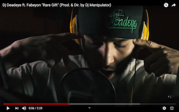 DJ Deadeye feat. Fabeyon - Rare Gift video (Prod. Dir. by Dj Manipulator)