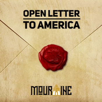 Mouraine - Open Letter to America video