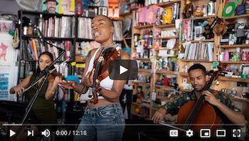 Sudan Archives: NPR Music Tiny Desk Concert