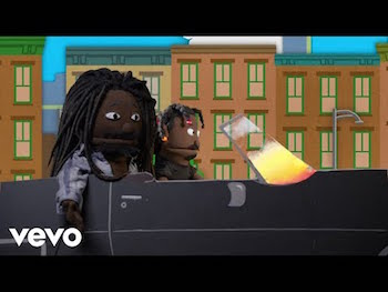 EARTHGANG - Top Down video