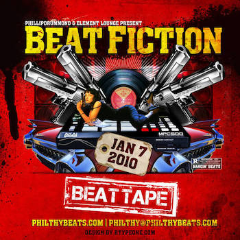 Phillopdrummond Element Lounge Present - Beat Fiction Tape