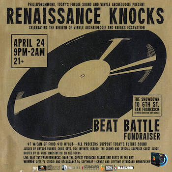 Today's Future Sound, Phillipdrummond, Vinyle Archeologie Breaks Excavation Present - Renaissance Knocks