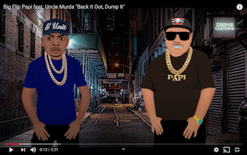 Big Flip Papi feat. Uncle Murda - Back It Out, Dump It video