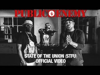 PUBLIC ENEMY featuring DJ PREMIER - State Of The Union (STFU) video