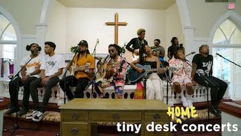 Spillage Village: Tiny Desk (Home) Concert