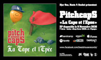 Pitchcaps - Deep Cover 2020 / Tapage video