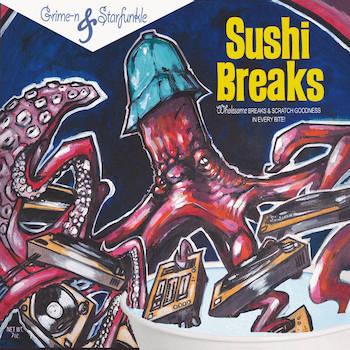Terem Ess Be - Sushi Breaks: 7 Inch Vinyl Instrumentals