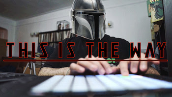 The Audible Doctor - Beat Out Of The Mandalorian Theme Song | Live Beats Ep. 3