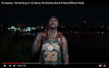 DJ Kayslay feat. AZ, Benny, Bun B, Trae Tha Truth Zone - We Get Busy video