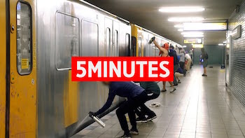 5Minutes With: 1UP CREW (Berlin)