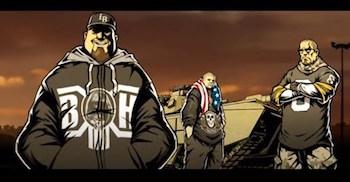 DJ Muggs vs Ill Bill feat. Slaine Everlast - Skull Guns video