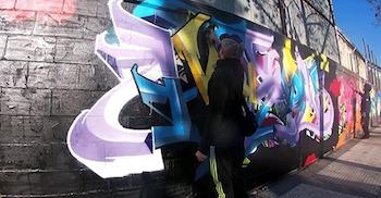 GRAFFITI Profile - Hiben in 2 minutes (back to reality)