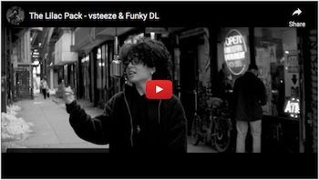 vsteeze Funky DL - The Lilac Pack video