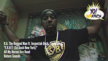 R.A. The Rugged Man feat. Inspectah Deck + Timbo King - E.K.N.Y. (B.K.N.Y. Mix) video