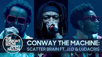 Conway The Machine feat. Ludacris JID - Scatter Brain video